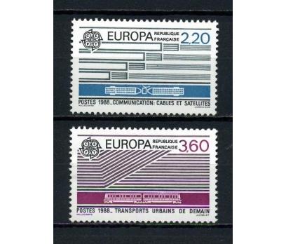 FRANSA ** 1988 EUROPA CEPT TAM SERİ (230615)
