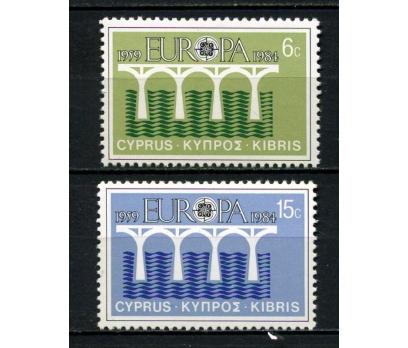 G.KIBRIS ** 1984 EUROPA CEPT TAM SERİ (130615)