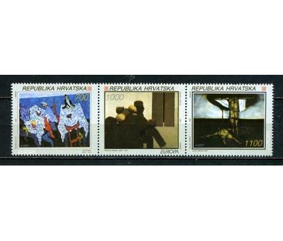 HIRVATİSTAN ** 1993 EUROPA CEPT TAM SERİ(260615)