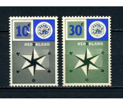 HOLLANDA ** 1957 EUROPA CEPT TAM SERİ (090615)
