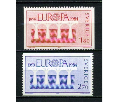 İSVEÇ ** 1984 EUROPA CEPT TAM SERİ (130615)