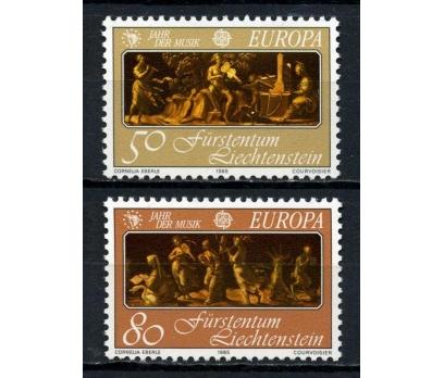 LİECHTENSTEİN **1985 EUROPA CEPT TAM SERİ (130615)