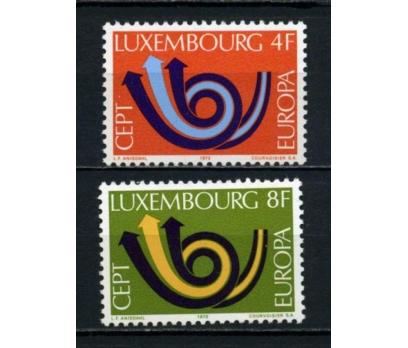 LUKSEMBURG ** 1973 EUROPA CEPT TAM SERİ(090615)