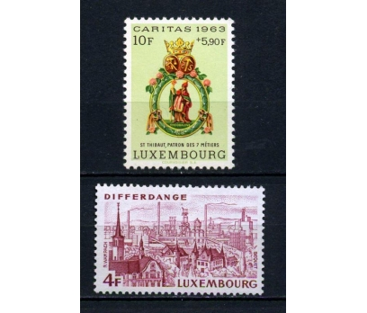 LUKSEMBURG ** CARİTAS 2 VALÖR SÜPER (150615)