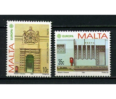 MALTA ** 1990 EUROPA CEPT TAM SERİ (250615)