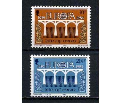 MAN ADASI ** 1984 EUROPA CEPT TAM SERİ (120615)