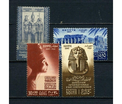 MISIR ** 1947 SANAT TAM SERİ SÜPER (150615)
