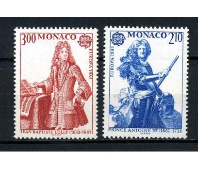 MONAKO ** 1985 EUROPA CEPT TAM SERİ (130615)
