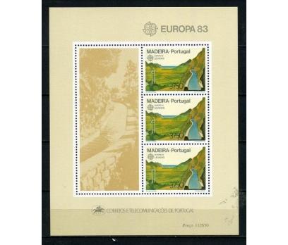 POR.MADEİRA **1983 EUROPA CEPT KLEİNBOGEN (120615)