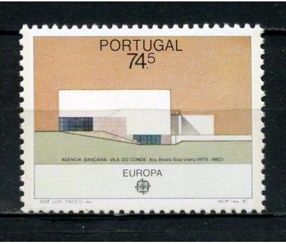 PORTEKİZ ** 1987 EUROPA CEPT TAM SERİ (230615)
