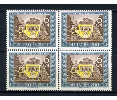 REİCH ** 1942 PUL GÜNÜ DBL TAM SERİ (070615)