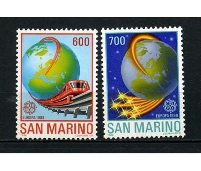 SAN MARİNO ** 1988 EUROPA CEPT TAM SERİ (240615)