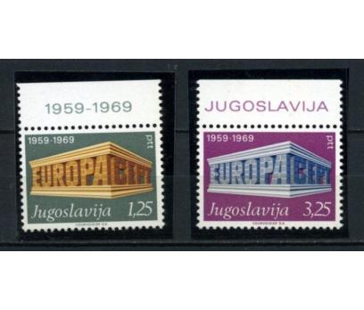 YUGOSLAVYA ** 1969 EUROPA CEPT TAM SERİ(090615)