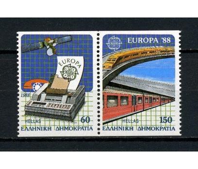 YUNANİSTAN ** 1988 EUROPA CEPT/C TAM SERİ (230615)