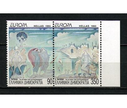 YUNANİSTAN ** 1993 EUROPA CEPT/C TAM SERİ (260615)