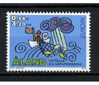 ALAND ** 2001 EUROPA CEPT TAM SERİ(030715)