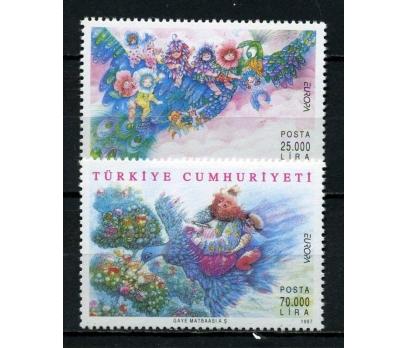 CUMHURİYET ** 1997 EUROPA CEPT TAM SERİ (300615)