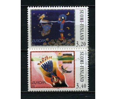 FİNLANDİYA ** 1997 EUROPA CEPT TAM SERİ (290615)