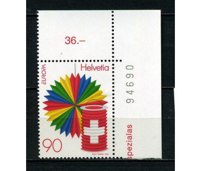 İSVİÇRE ** 1998 EUROPA CEPT TAM SERİ  (010715)