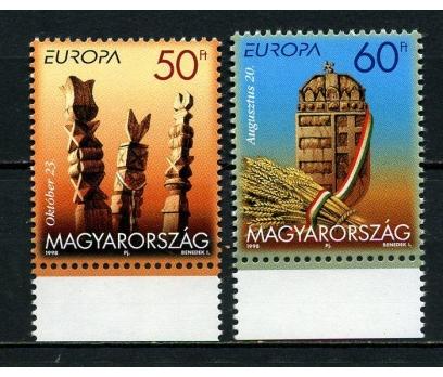 MACARİSTAN ** 1998 EUROPA CEPT TAM SERİ  (010715)