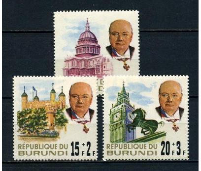 BURUNDİ ** 1967 CHURCHILL 2.ÖLÜM Y. TAM S.(050715)