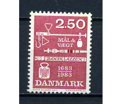 DANİMARKA **1983 AĞIRLIK ÖLÇÜLERİ TAM SERİ(070715)