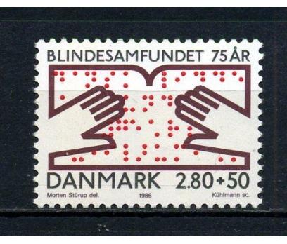 DANİMARKA ** 1986 BLİND 75.YIL TAM SERİ (070715)