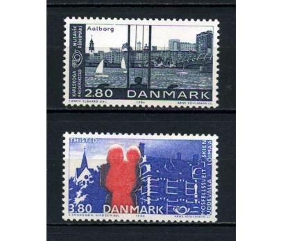 DANİMARKA ** 1986 NORDEN SERGİSİ TAM SERİ (070715)