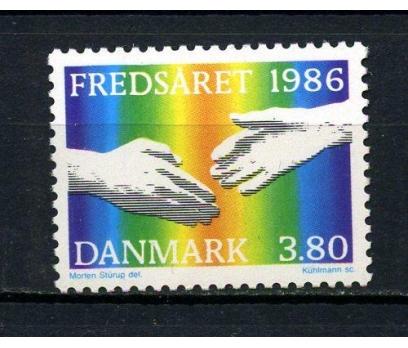 DANİMARKA **1986 U.BARIŞ YILI TAM SERİ (070715)