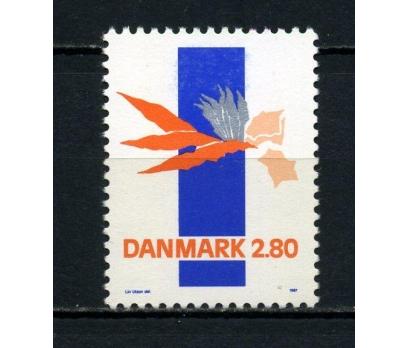DANİMARKA ** 1987 ÇAĞDAŞ SANAT TAM SERİ (070715)