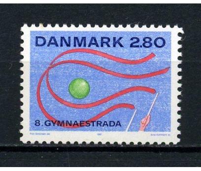 DANİMARKA ** 1987 GYMNAESTRADA TAM SERİ (070715)