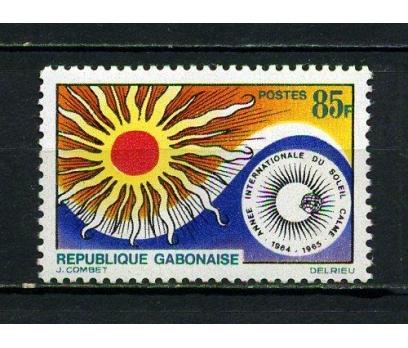 GABON ** 1965 U. GÜNEŞ YILI TAM SERİ (060715)