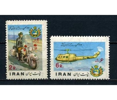 İRAN ** 1976 JANDARMA GÜNÜ TAM SERİ (100715)