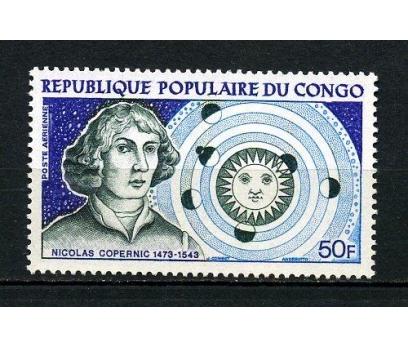 KONGO ** 1973 KOPERNİK 500.DOĞUM Y. TAM S.(060715)