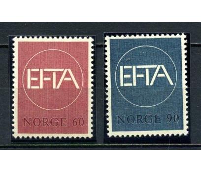 NORVEÇ ** 1967 EFTA TAM SERİ SÜPER (080715)