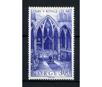 NORVEÇ ** 1982 KRAL OLAF 25.YIL TAM SERİ (080715)