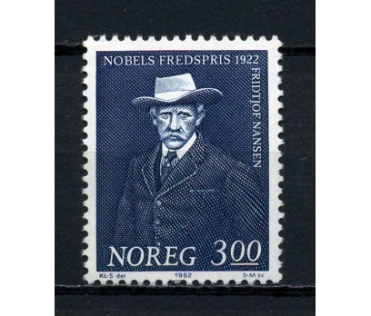 NORVEÇ ** 1982 ZOOLOG F.NANSEN TAM SERİ (080715)