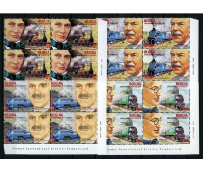 BEQUİA**1986 TRENLER & MÜHENDİSLER DBL TAM(140715)