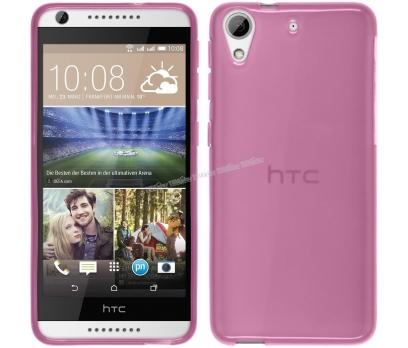 HTC Desire 626 Silikon Kılıf Pembe