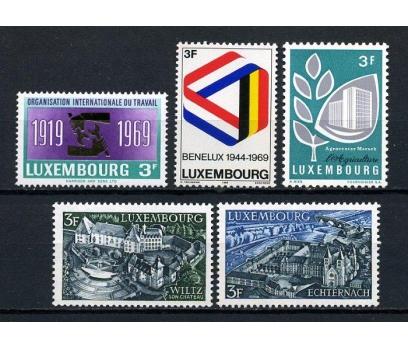 LUKSEMBURG ** 1969  4 TAM SERİ SÜPER (130715)