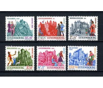LUKSEMBURG ** 1969 CARİTAS TAM SERİ SÜPER (130715)