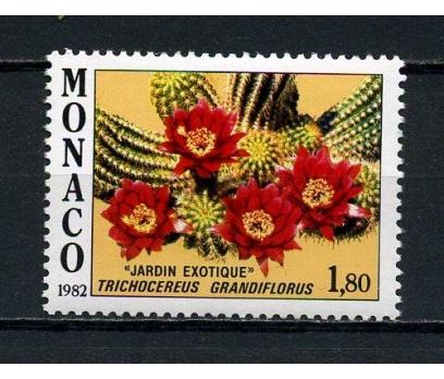 MONAKO ** 1982 EKZOTİK BİTKİLER TAM SERİ (120715)