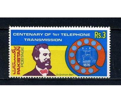 PAKİSTAN ** 1976 TELEFON & G.BELL TAM SERİ(110715)