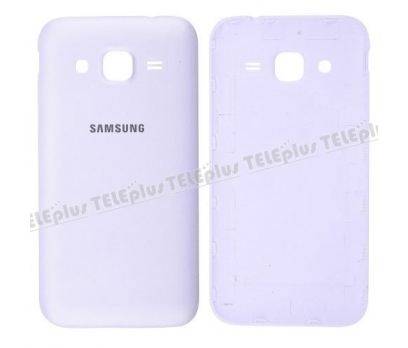 Samsung Core Prime Arka Pil Batarya Kapak Beyaz