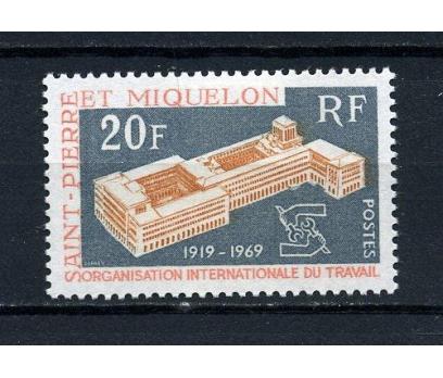S.P.MİQUELON *  1969 IAO 50.YIL  SÜPER  (120715)