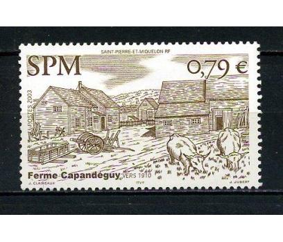 S.P.MİQUELON * 2003 KIRSAL MİMARİ TAM SERİ(120715)