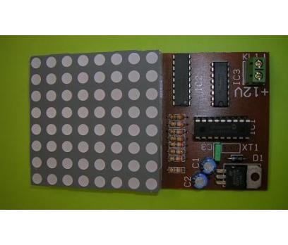 8x8 LED Animasyon - HESAPLI - 1 Adet Fiyatıdır