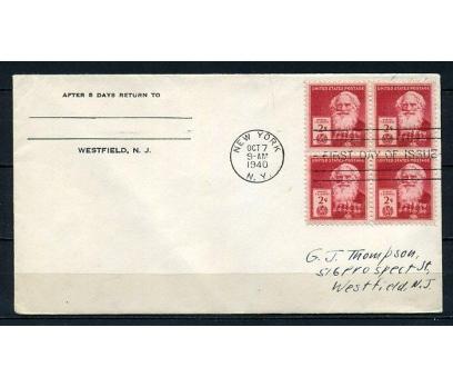 ABD 1940 FDC SAMUEL MORSE SÜPER (210715)