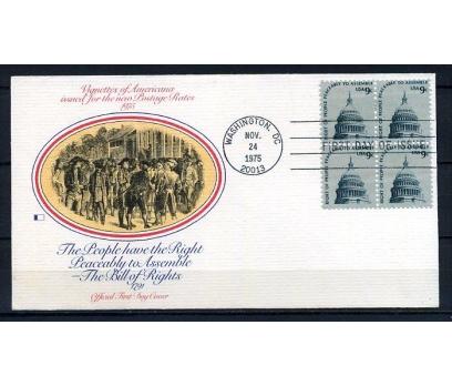 ABD 1975 FDC BEYAZ SARAY DBL SÜPER (220715)