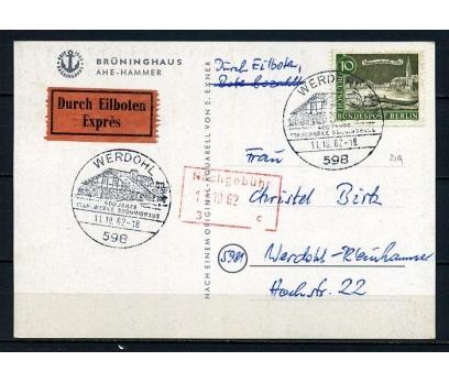ALMANYA 1962 ÖZEL D.BRÜNİNGHAUS 400.YIL (260715)